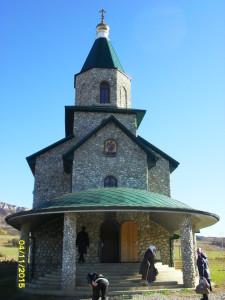 Воскресенско-Михайловский храм станицы Андрюки